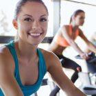 ciclo indoor fitness chica